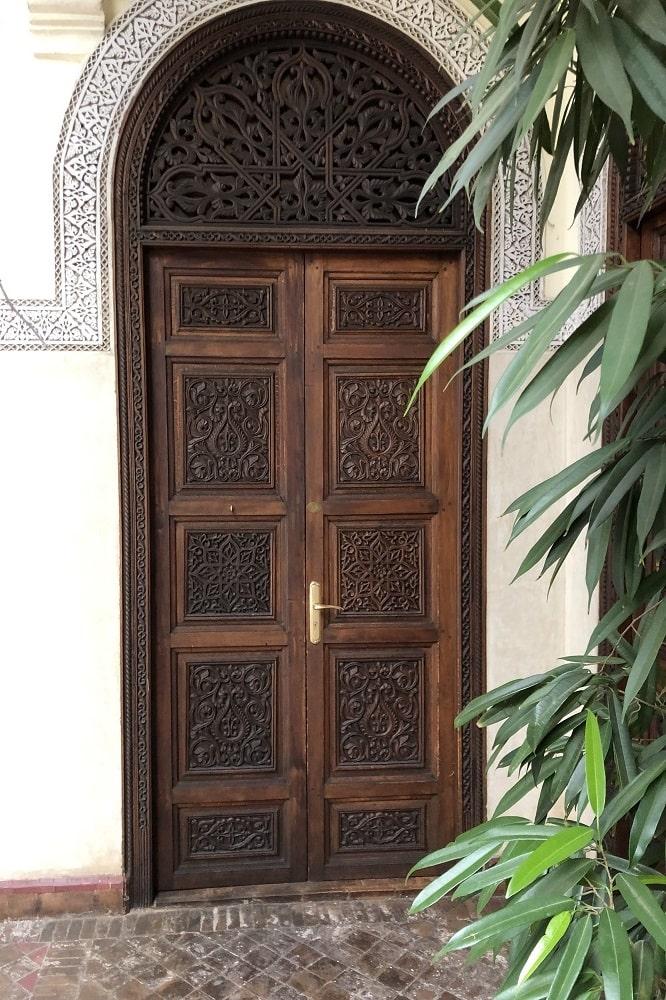 Menuiserie bois sur mesure Marrakech